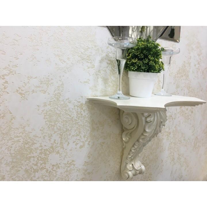 Декоративная лазурь «БЕЛОЕ ЗОЛОТО», 1кг (цена за М²)