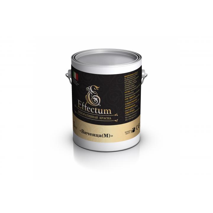 """Краска с эффектом матового песка """"ВИЧЕНЦА М"""", 5 кг  (цена за М²)"""